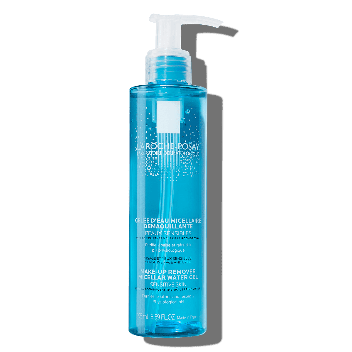 La Roche Posay ProductPage Make Up Remover Micellar Water Gel 195ml 33