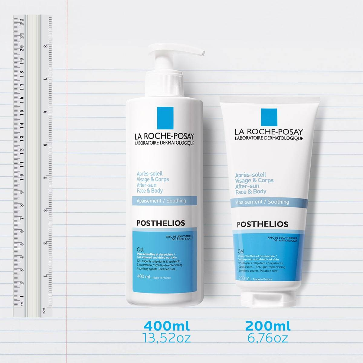 La Roche Posay ProductPage After Sun Posthelios Melt In Gel Family 333