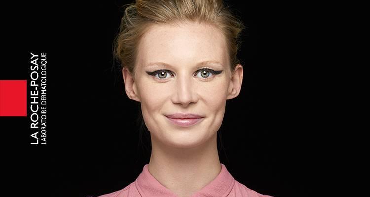 x La Roche Posay Sensitive Toleriane Make up Jessica After