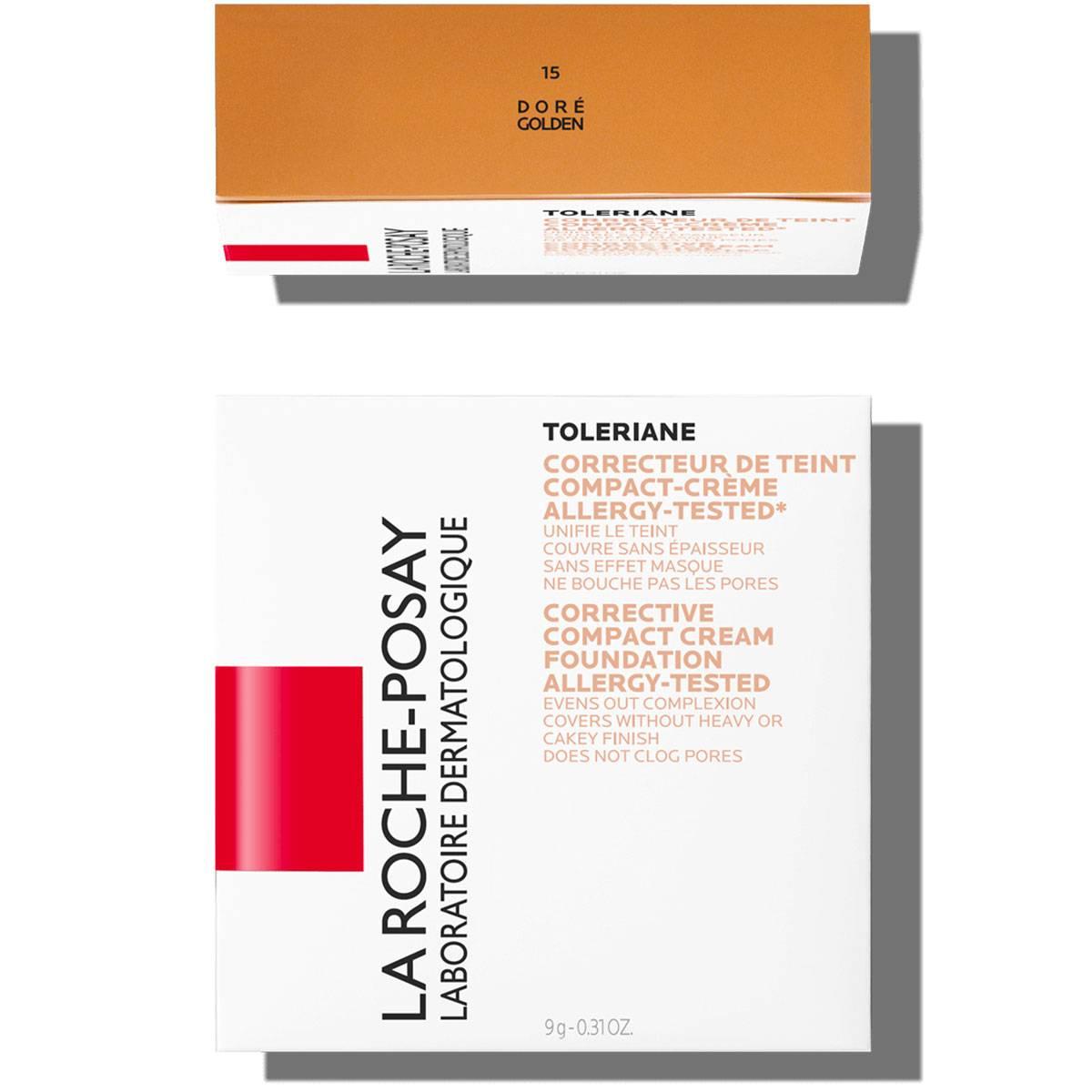 La Roche Posay Sensitive Toleriane Make up COMPACT_CREAM_15Golden 3337